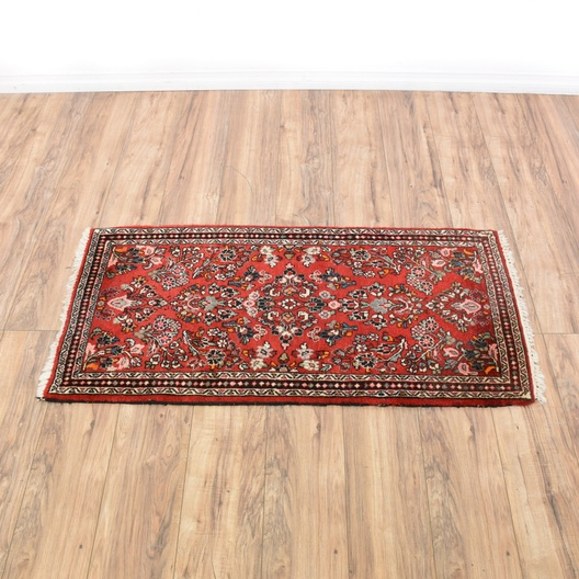 Persian Rug Los Angeles: Hand Woven Red Persian Wool Rug