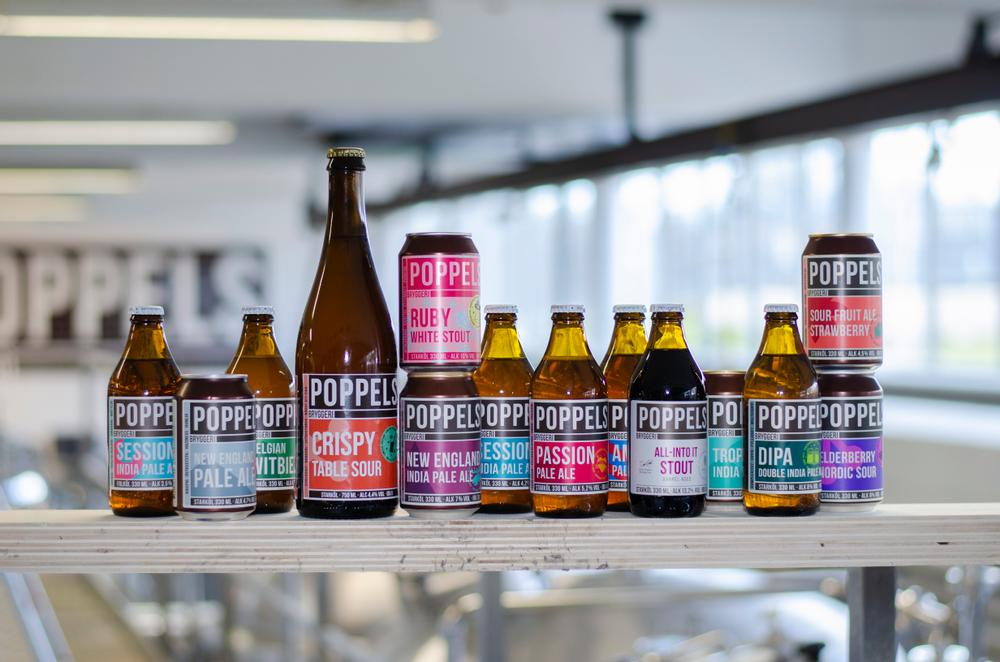 Den nya etikettdesignen kommer göra Poppels tydligare för kunderna