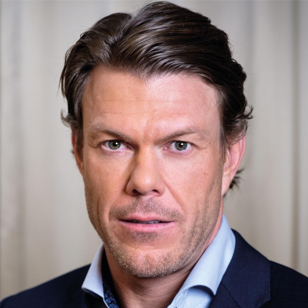 Mathias Fredriksson. Foto: Knut Koivisto, SVT.