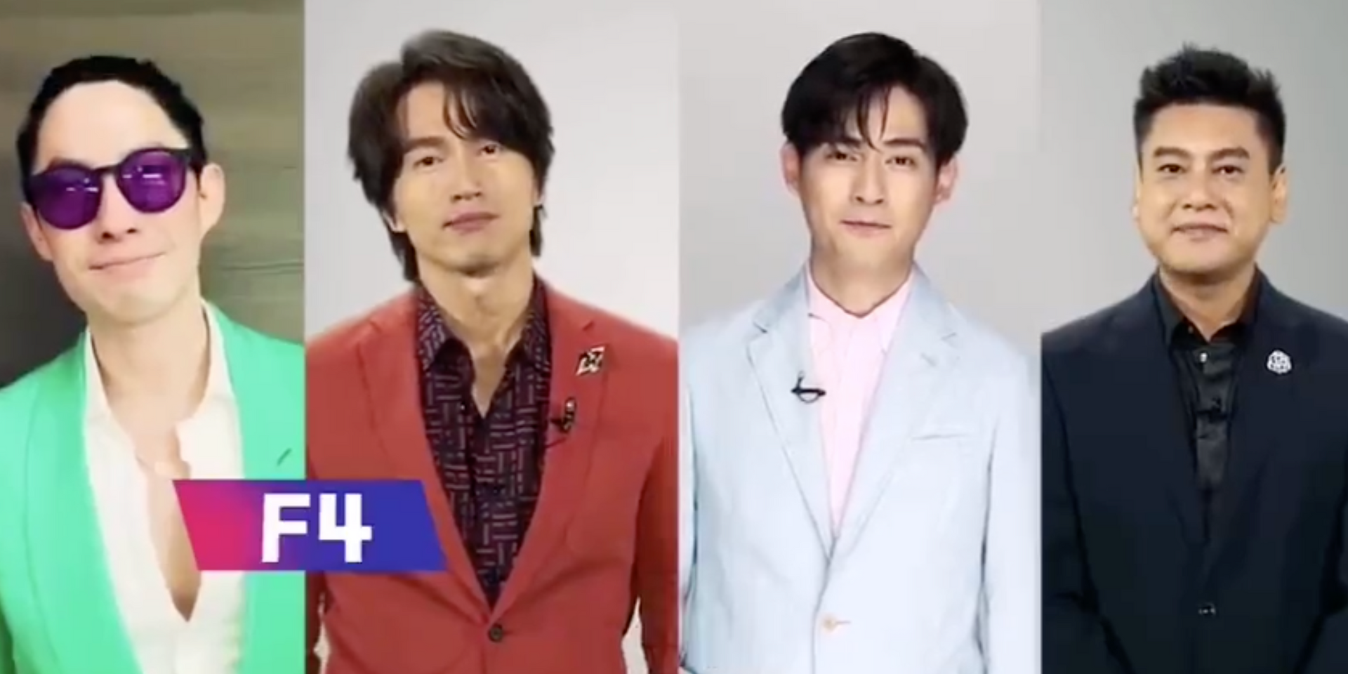 Taiwanese boyband F4 are back for a reunion show