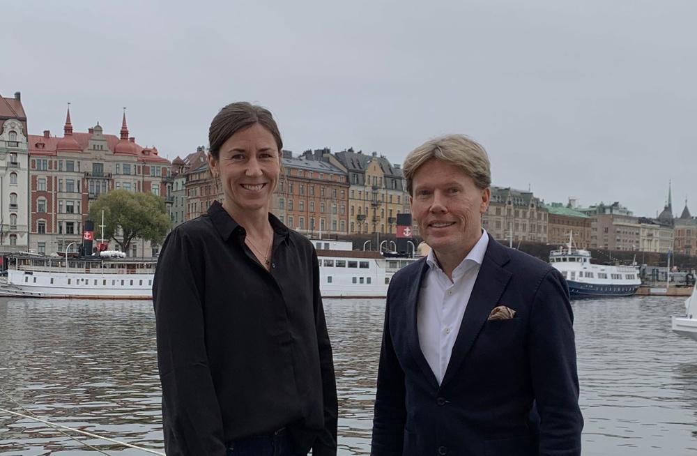 Therese Axberg, Key Account- & Sales Operations Manager, Foodoki &  Joachim Holmner, affärsområdeschef varumärkesägare, Storesupport
