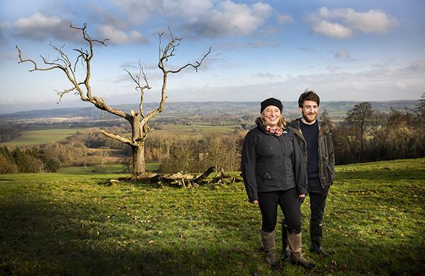Peta Darnley and Lee Westcott