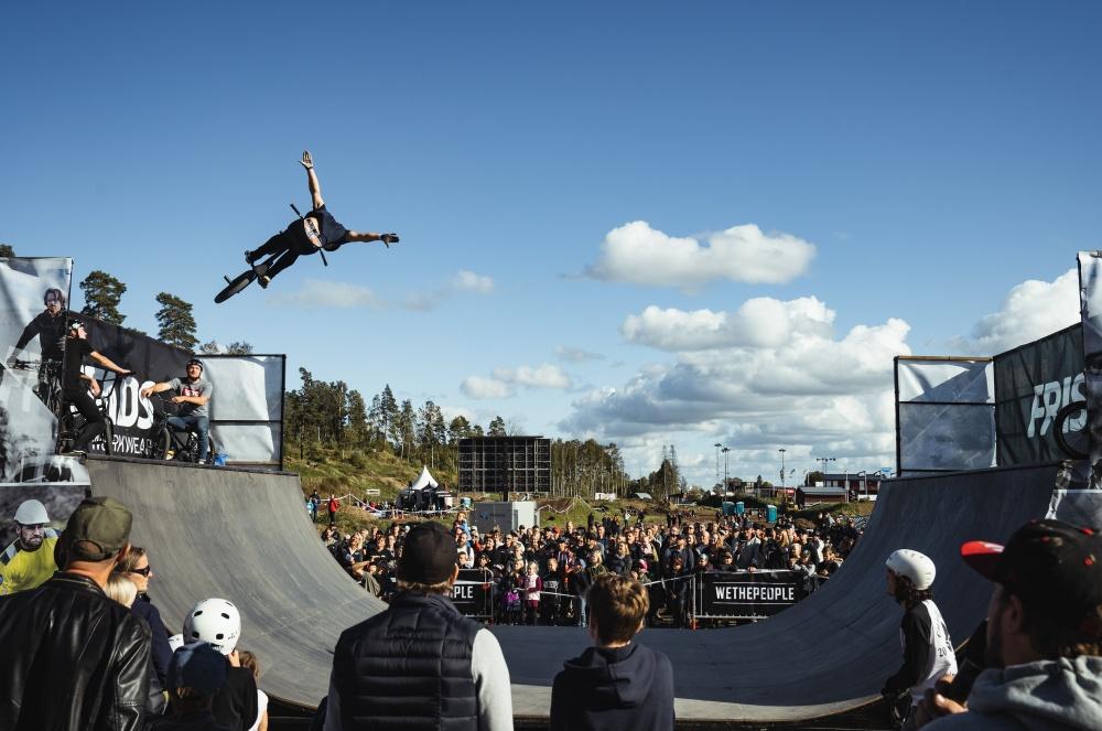 Jacob Nedler, Sveriges bästa BMX-åkare, kommer att bjuda på show under Vättern Bike Games.