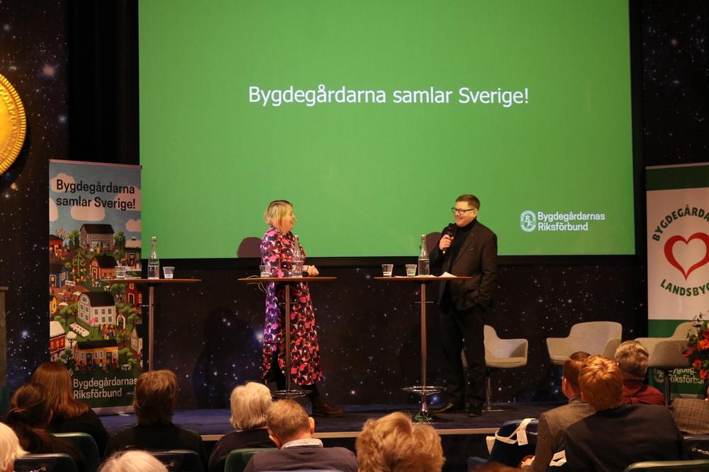 Per Lodenius, förbundsordförande, Bygdegårdarnas Riksförbund. Foto: Jenny Dahlerus