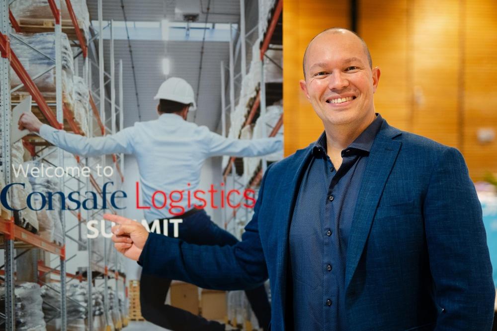 Andreas Bjørnhaug, new Managing Director of Consafe Logistics Norway