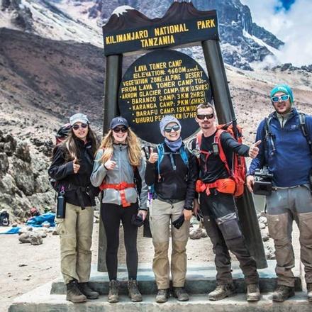 Mount Kilimanjaro - 7 Days Machame Route.