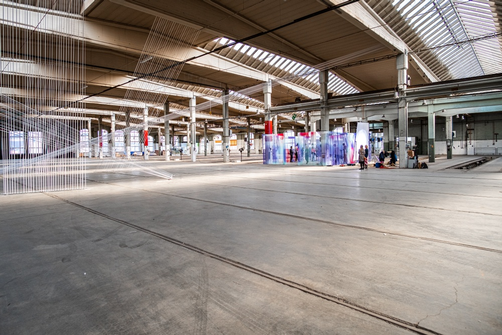 Installation: Nya Vinklar, SPACE by Jeanette/Jeanette Gostomski Studiodesign: Malmöbaserade Rumrum och schweiziska textilföretaget ZigZagZurich.