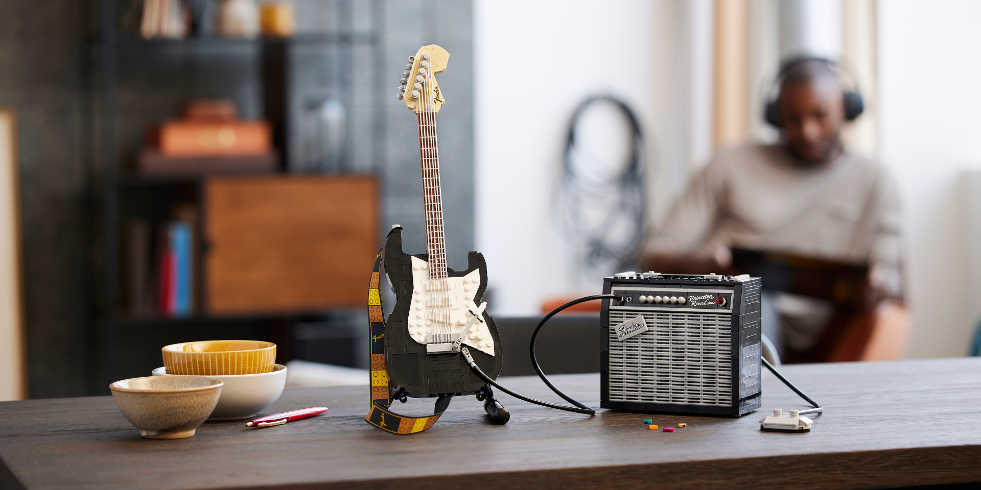 Rock out with the new LEGO Ideas Fender Stratocaster set designed by Tomáš Letenay
