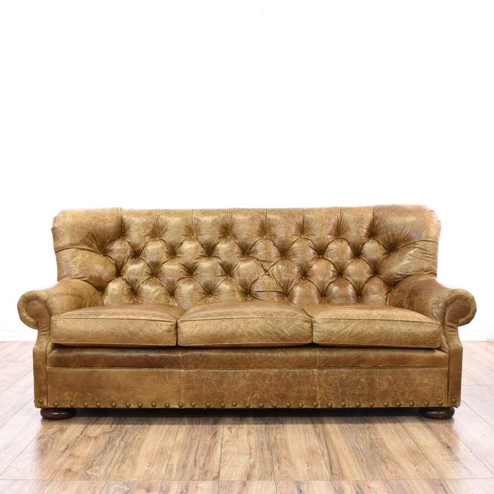 Quot Bassett Quot Micro Suede Sofa Loveseat Vintage Furniture