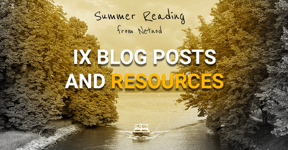 Ix blog posts and resources