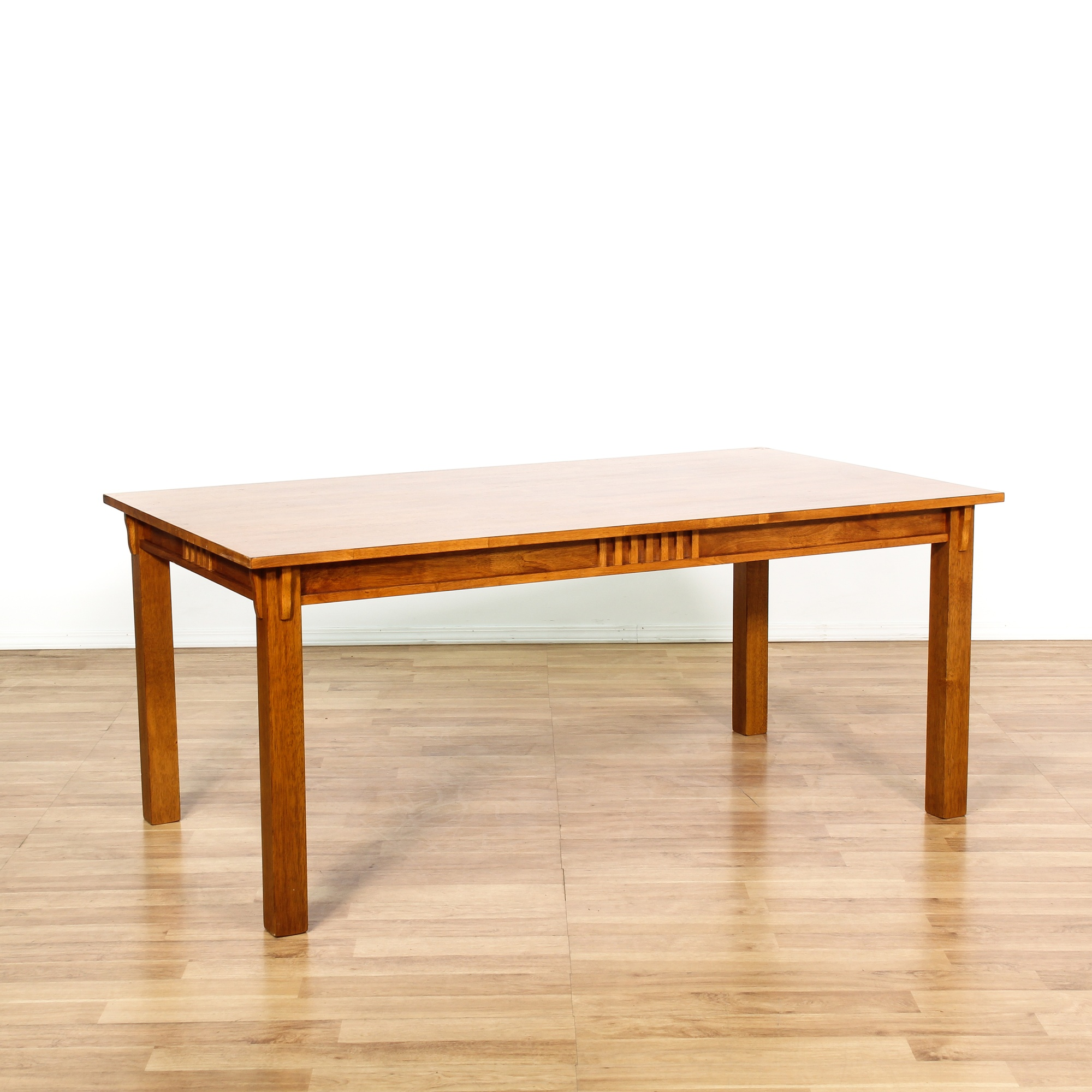 Dining Room Furniture San Diego: Solid Birch Mission Style Dining Table