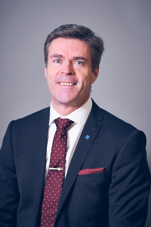 Riksdagsledamot Hans Eklind, migrationspolitisk talesperson och ledamot i partistyrelsen.
