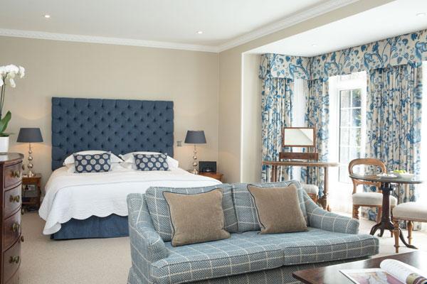 Longueville Manor deluxe-room