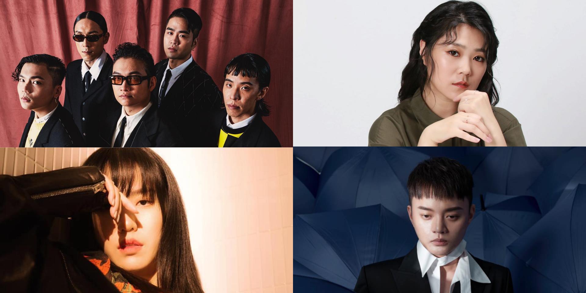 Sunset Rollercoaster, Shi Shi, Olivia Tsao, Khalil Fong, and more win big at the Golden Melody Awards 2021