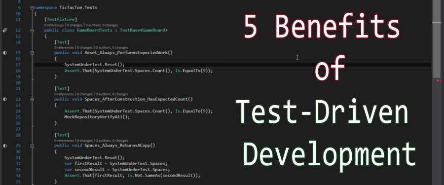 5 Ways Test Driven Development Benefits Your Projects