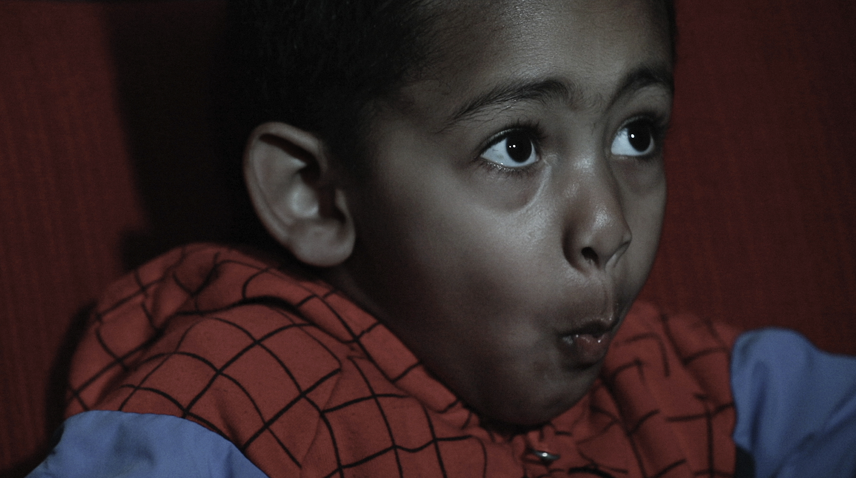 Bild från Filminstitutets skolbiokampanjfilm, som finns att se på filminstitutet.se/skolbio.