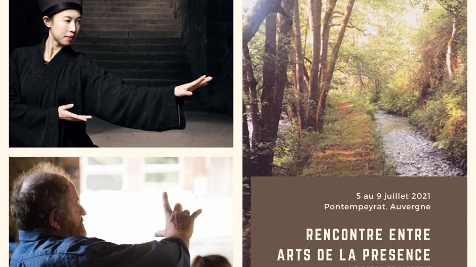 Représentation de la formation : Rencontre entre arts de la présence