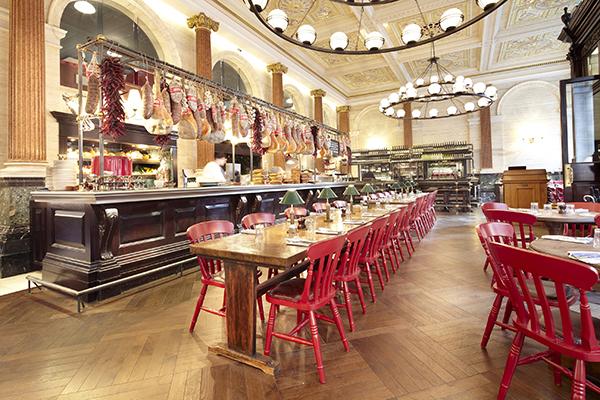 Jamie's Italian, Threadneedle Street, London