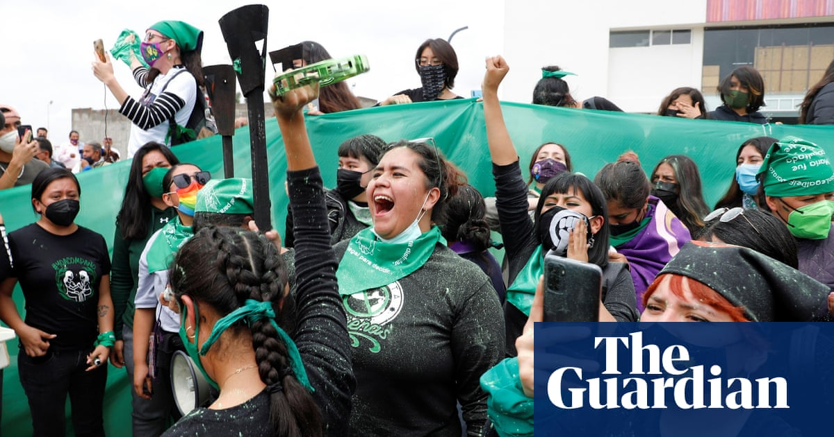 @guardian Mexico activists celebrate abortion ruling as a sign of culture change Link Thumbnail   Linktree