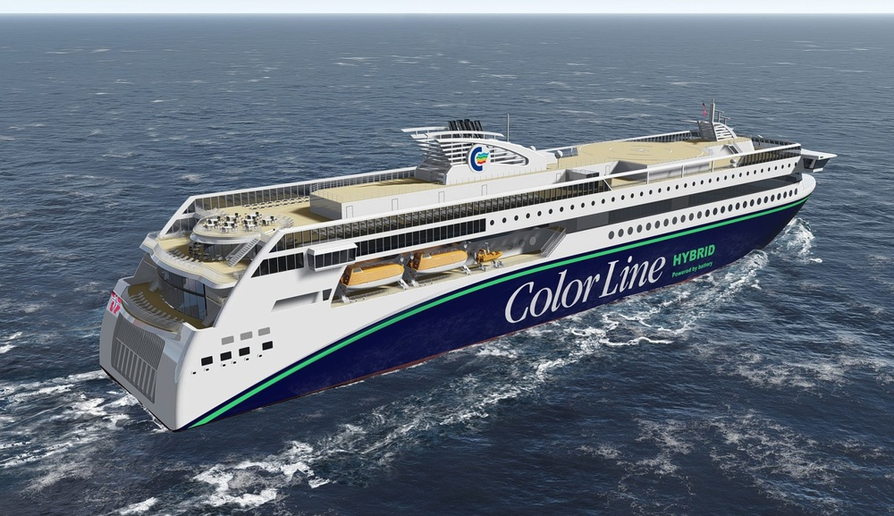 Color Line Hybrid ferry