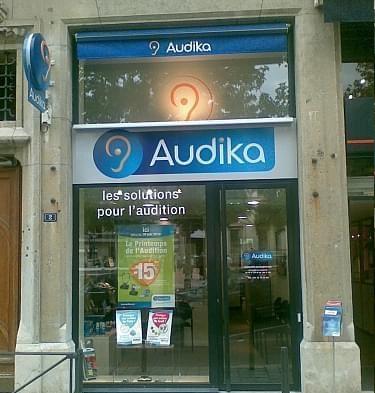Photo du centre Audika de Lyon