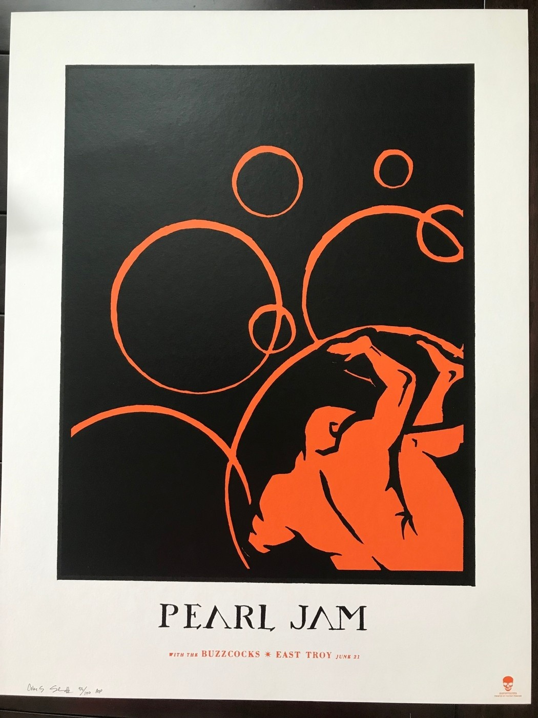 Pearl Jam East Troy 2003 Ames Bros Show Edition  Collectionzz