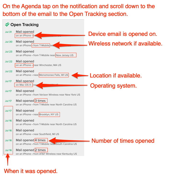 How does email open tracking work?