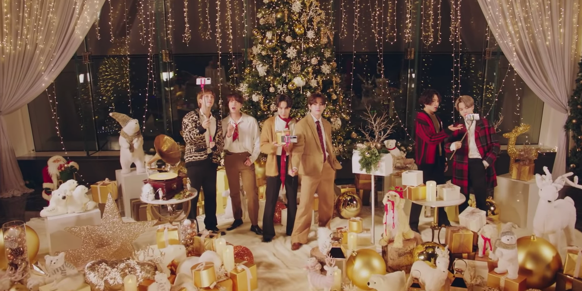 "BTS gift fans with Holiday Remix of Grammy-nominated hit 'Dynamite' ""to return some of the amazing love"" – watch"