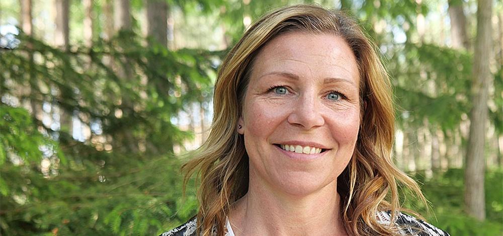 """""""Det känns spännande att ta sig an den här nya utmaningen"""", säger Paper Province nya vd Sandra Sundbäck."""