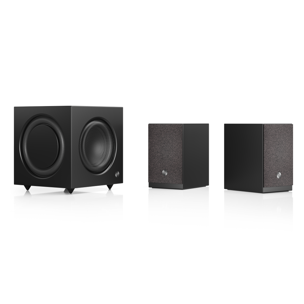Audio Pro SW-10, black with A26