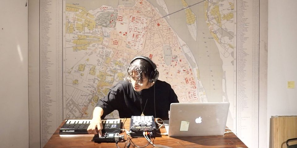 Moving from laundromats to temples, Escuri gives a tour of urban Japan in his album, Wander Studio