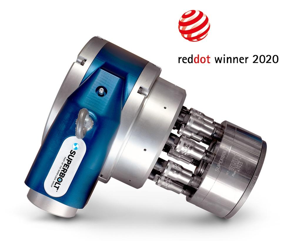 Superbolt Tool wins Red Dot Design Award 2020
