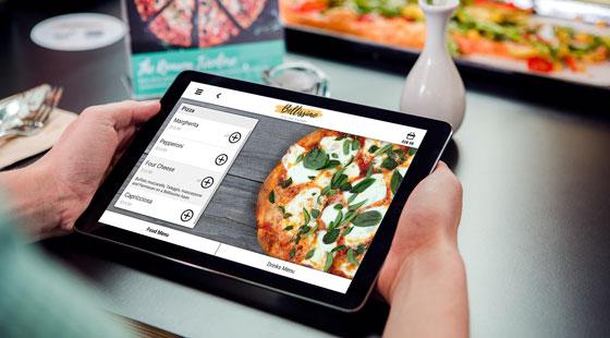 qikserve-tablet-pizza-restaurant