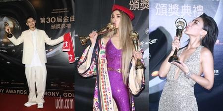 第30届金曲奖得奖名单  Leo王林忆莲成歌王歌后  Jolin赢得两项大奖