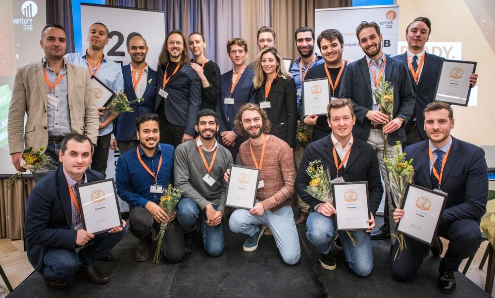 2018 års vinnare i Venture Cup region Öst