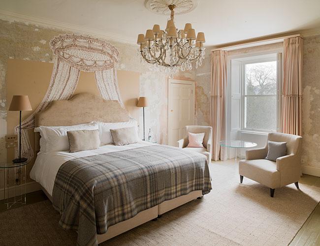 No 15 Great Pulteney, Bath: a Martin Hulbert bedroom