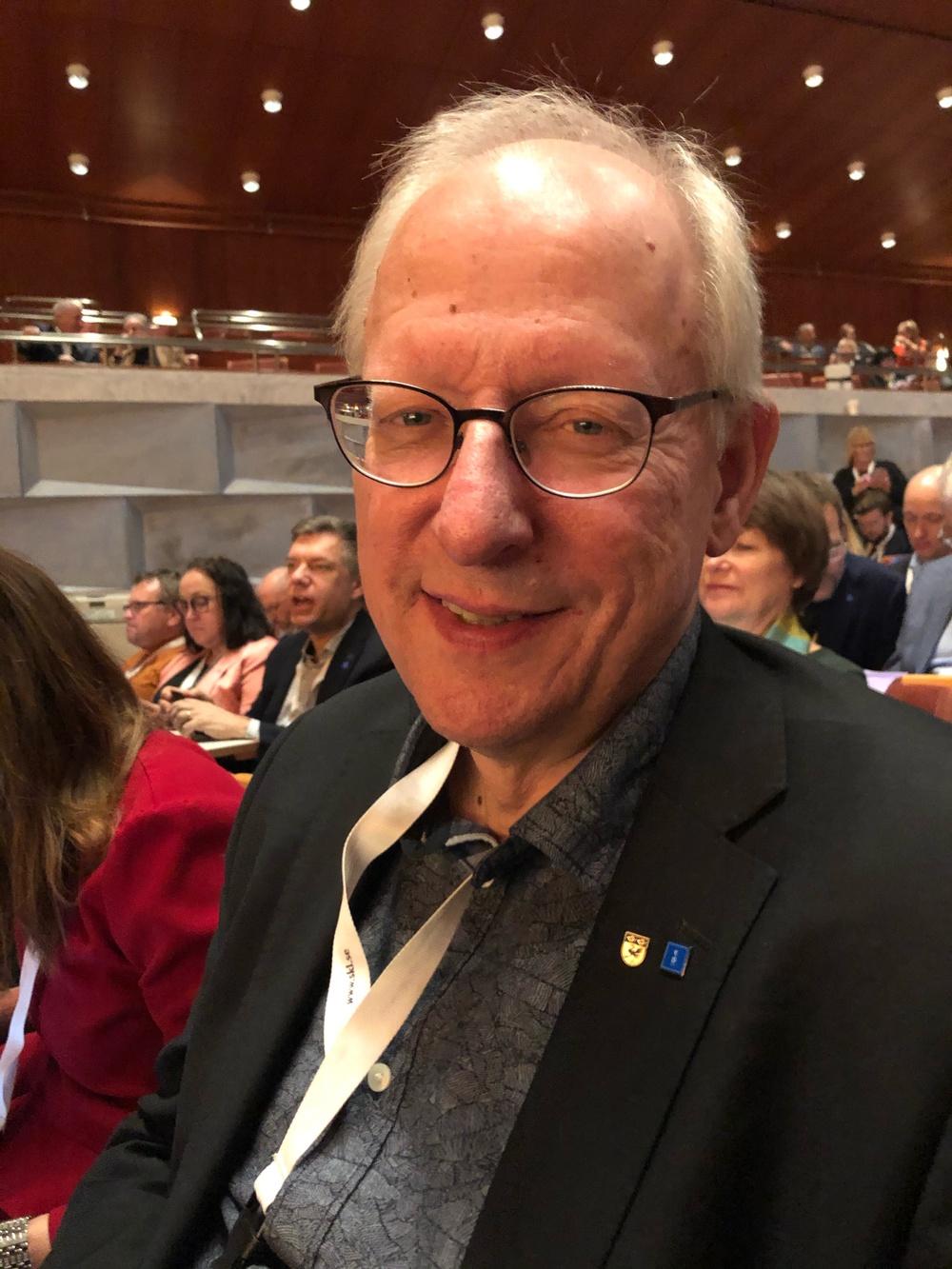 Bengt Germundsson, gruppledare för KD i Sveriges kommuner och regioner.