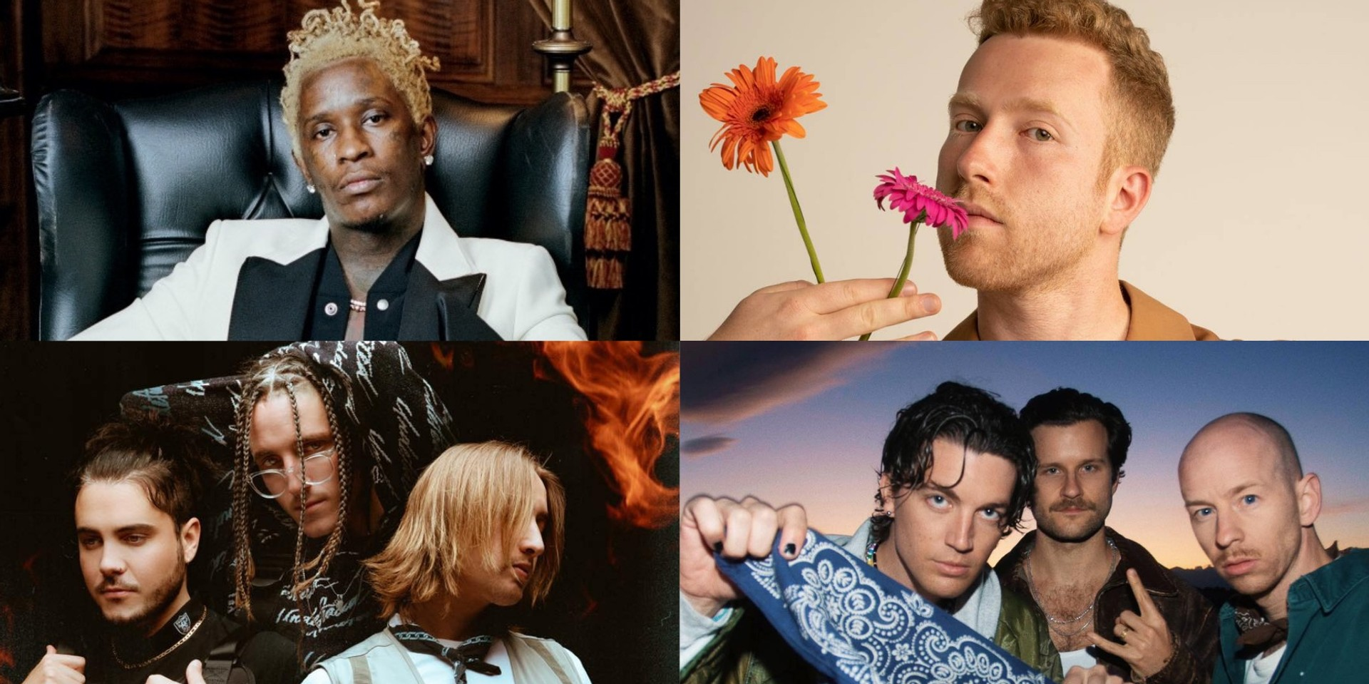 Young Thug, JP Saxe, Chase Atlantic, and more to headline new virtual concert series from Live Nation and Veeps