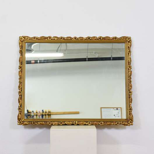 Gilded Gold Floral Carved Mirror