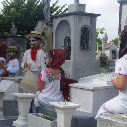Day of the Dead in the Yucatan