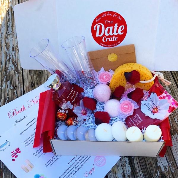 Intimate: Romantic Bath Night Date Box