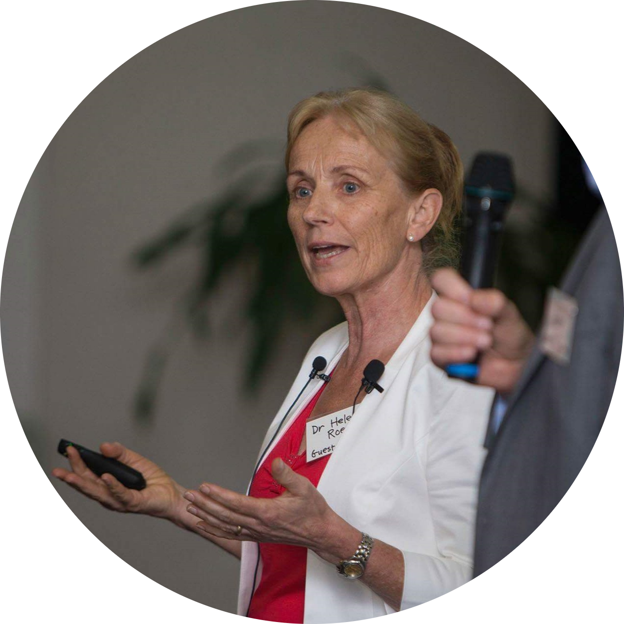 Dr Heleen Roex presents at Raw Events Symposium