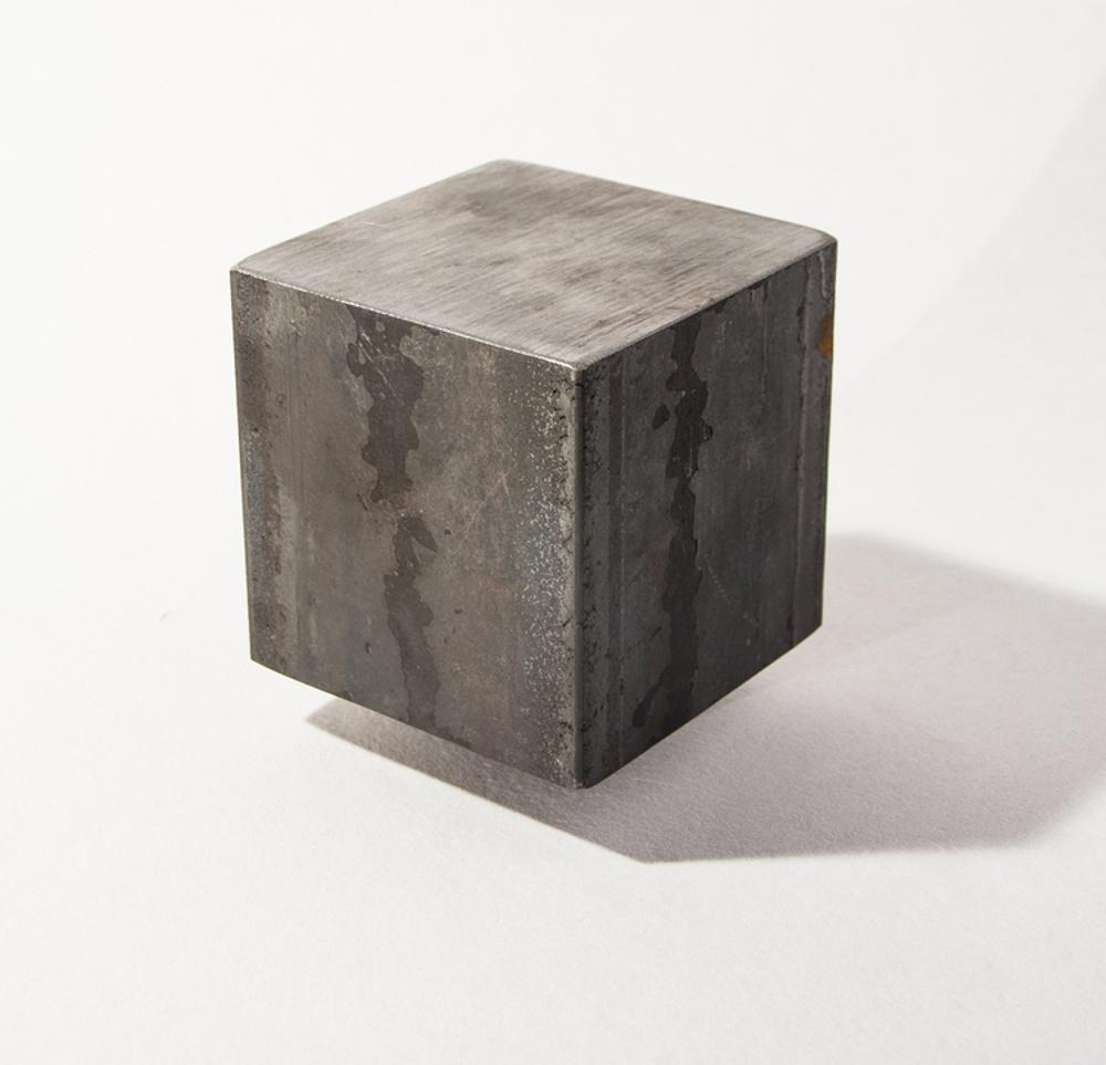 Vad kan smederna göra av en kub på 7 kilo järn?