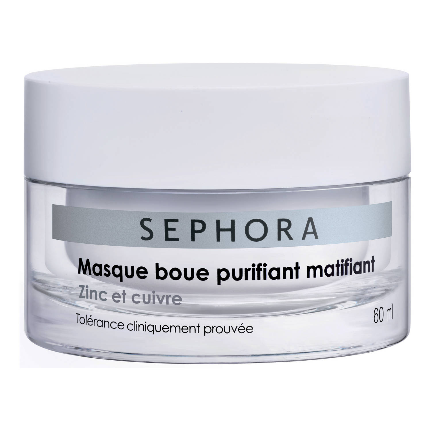 Masque boue purifiant matifiant