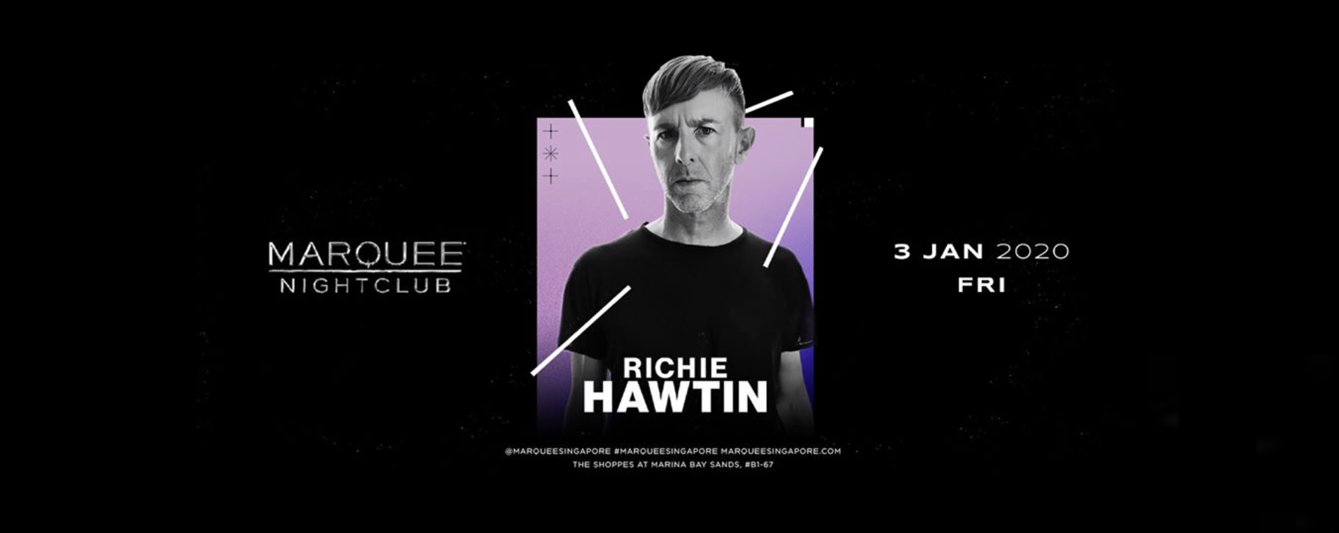 Marquee Singapore Presents Richie Hawtin