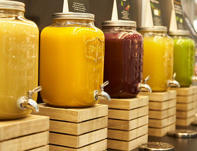 Beacon Oranka juice solutions