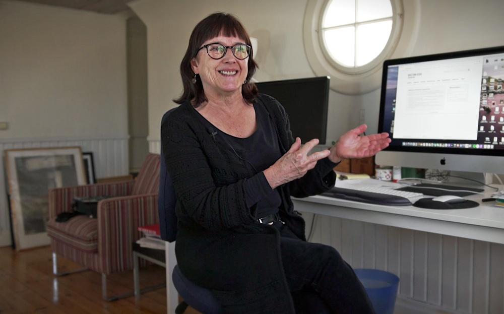 Konstkonsulent Lena Wiklund