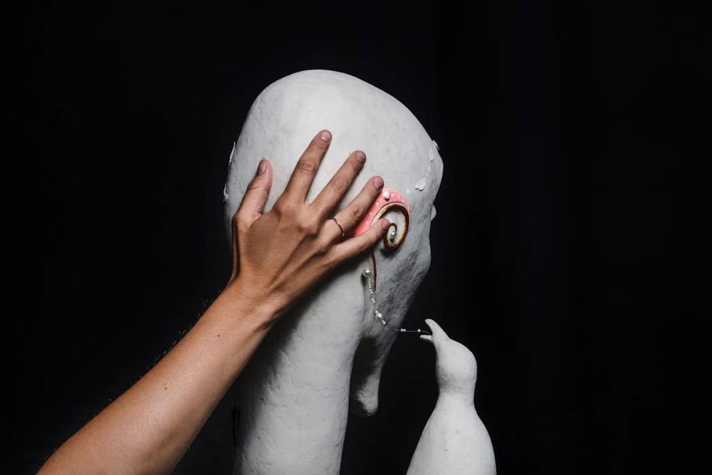 Utställningen Kännbart visades på Scenkonstmuseet 2018. Foto: Jonas André
