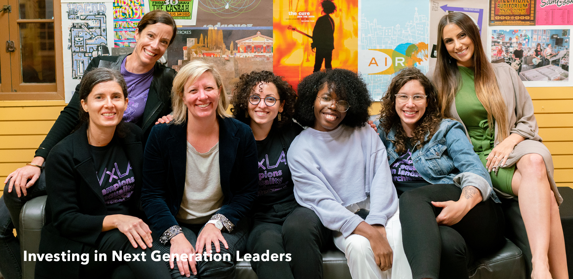 Investing in Next Generation Leaders