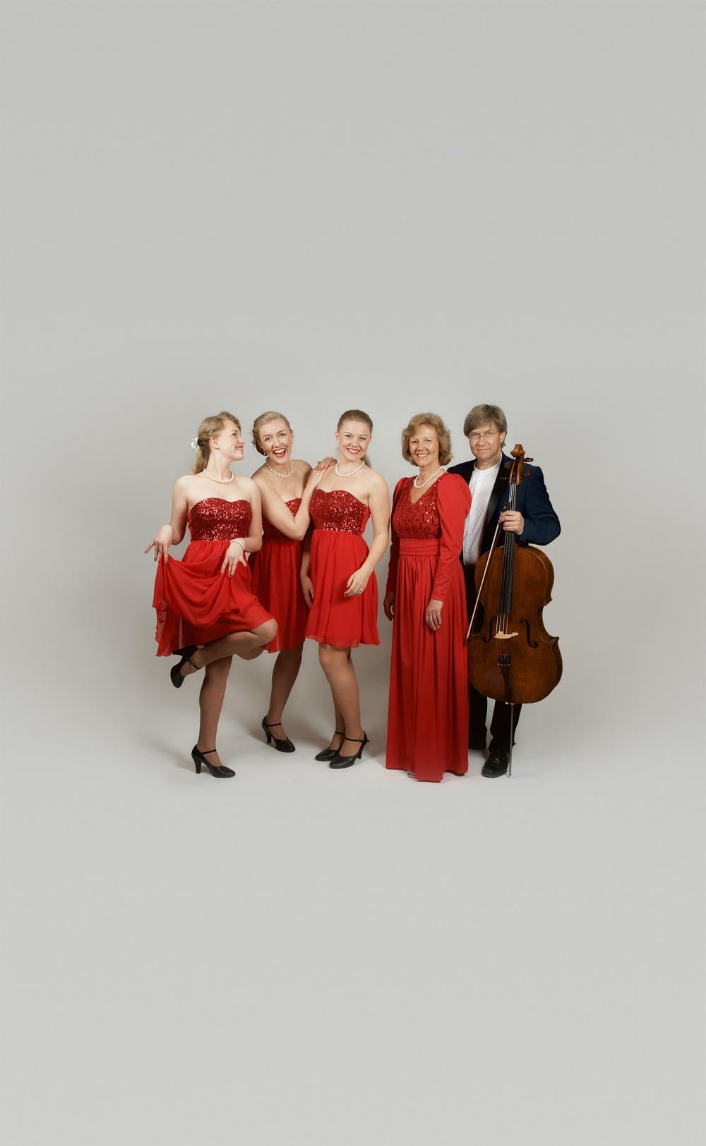 Wermland Operas Julturné 2015. The Hebbe Sisters och Duo Sentire. Fri publicering i samband med rubricerad föreställning.  Fotograf: Kim Zimmerl / Wermland Oper